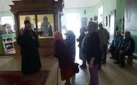 Посещение Свято–Никола–Тихонова монастыря