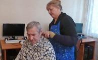 Волонтёры-парикмахеры в ОВП