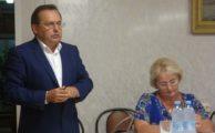 Встреча с А.К. Буровым, Ю.В. Смирновым