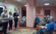 Волотёры Победы встретились с ветеранами отделения временного проживания граждан пожилого возраста и инвалидов