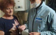Мобильная бригада оказала помощь одиноким пожилым гражданам